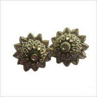 Jadau Polki Gold Earrings