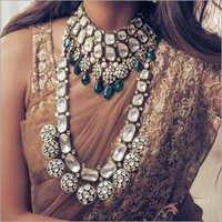 Kundan Meena Jadau Necklace