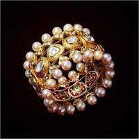 Gold Kundan Polki Jadau Bangles