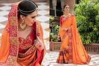 Heavy Work Saree
