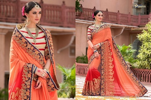 Heavy Bridal Fancy Saree