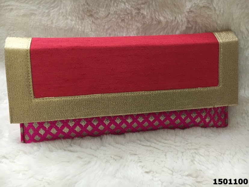 Beautiful Elegant Embroidered Ethnic Clutch