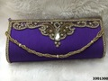 Designer Stone Work Evening Clutch Bags