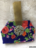 Beautifully Designed Floral Print Clutchbag