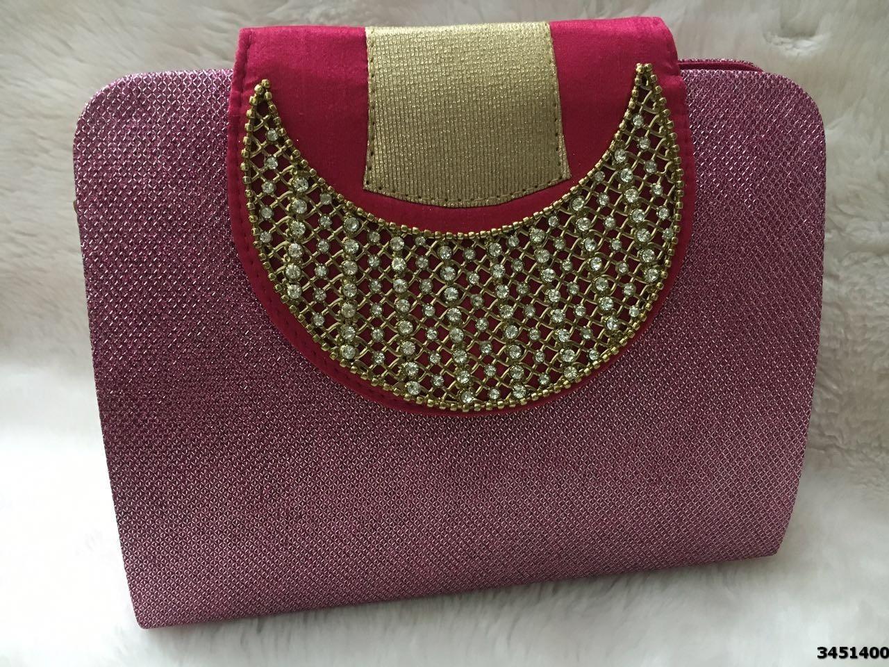 Eye Catching Ethnic Stylish Evening Clutch Bag