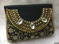 Dynamic Stone Work Clutch Bag/Evening Bag