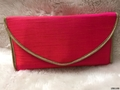 Cute And Simple Look Silk Evening Clutch Bag