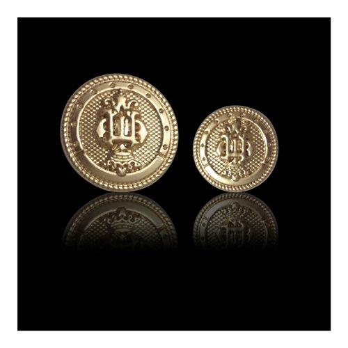 Gold Metal Button
