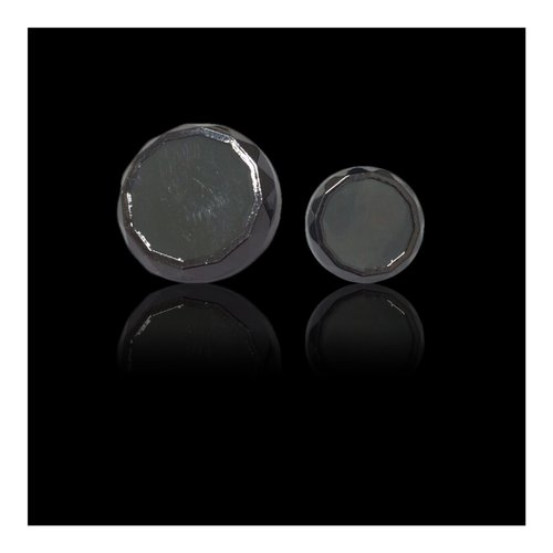 Gun Metal Button