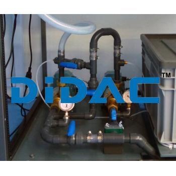 Series And Parallel Pump Test Set Unit