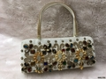 Stunning Stone Embroidery Stylish Handbag