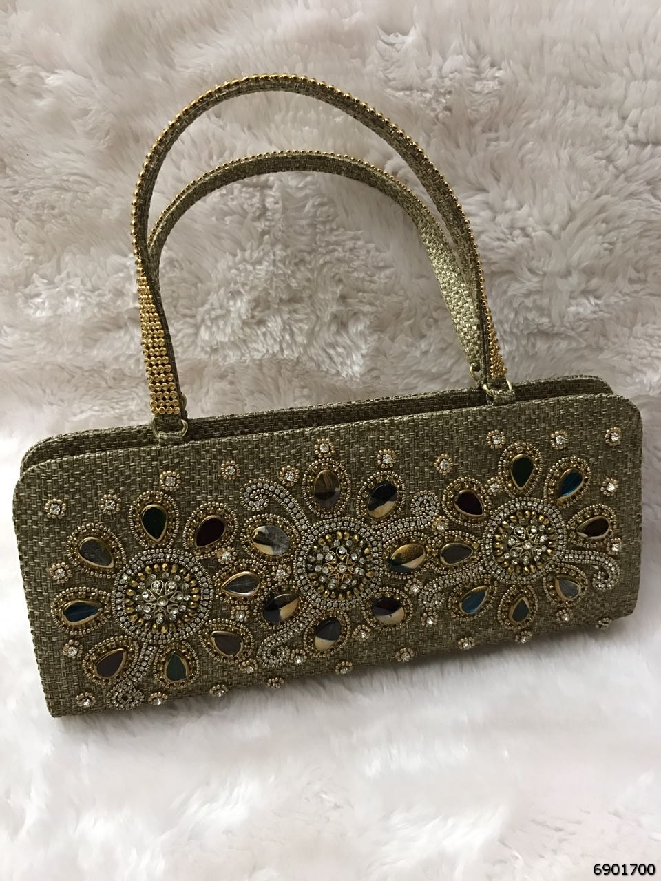 Elegant And Beautiful Embroidery Handbag