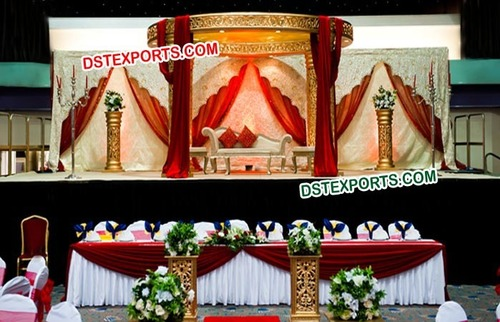Indian Wedding Fully Fiber Mandap