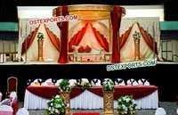 Indian Wedding Fully Fiber Mandap