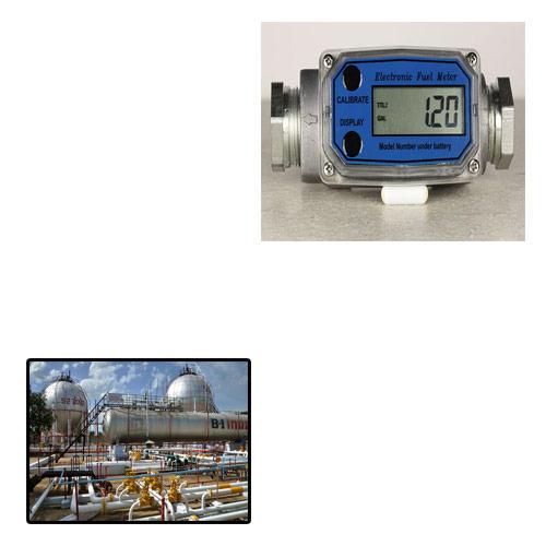 Flow meter for petroleum industry