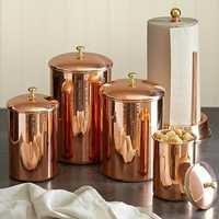 100% Copper Canisters