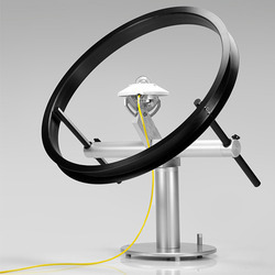 Shadow ring pyranometer