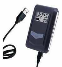 Usb temperature humidity data logger
