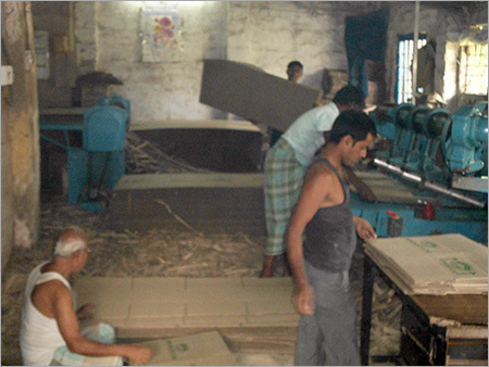 Single Face Corrugated Paper Sheets