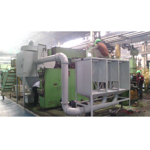 Downdraft Table Dust Collector