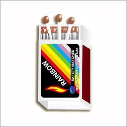 Rainbow Safety Matches