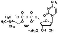 Citicoline sodium salt hydrate