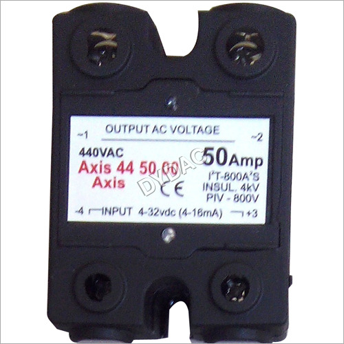 Double Phase Solid State Relay 50 Amps