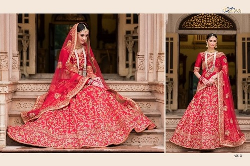 Heavy Designer Silk Lehanga