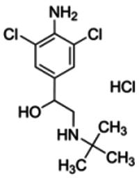 Clenbuterol hydrochloride solution