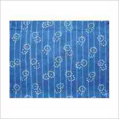 Indigo Hand Block Print Cotton Fabric