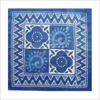 Indigo Hand Block Print Design Fabric