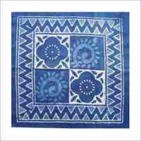 Indigo Hand Block Print Design Fabric