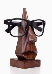Rosewood Nose Shaped Spectacle Holder