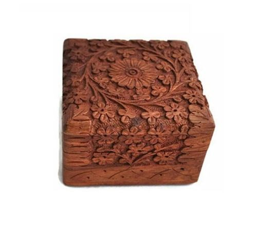 Wooden Small Jewellery Box