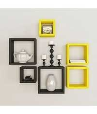 Square Shape Wall Mount Shelves