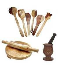 Dandicrafted Wooden Ladle Set