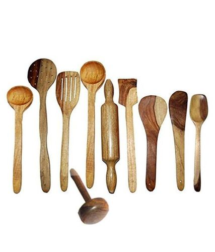 Traditional Wooden ladle set