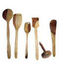 Sheesham Wooden Ladel Set