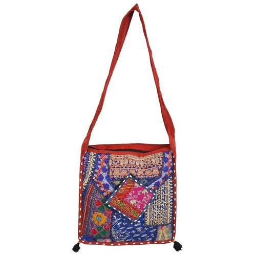 Cotton Hand Bags In Patch Work