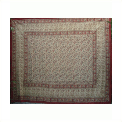 Cotton Hand Block Printed Bed Spreads