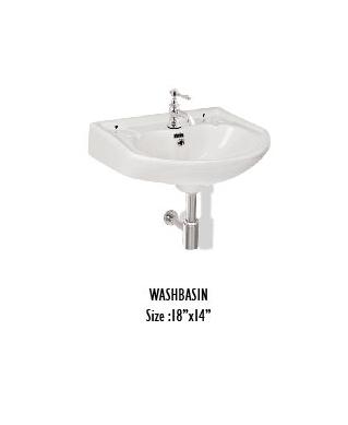 Corner Wash Basins