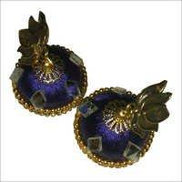 Fancy Silk Thread Earrings