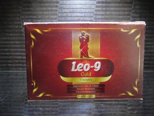 Leo-9 Gold capsule