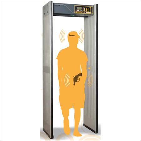 6 Zone Metal Detector