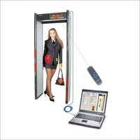Door Frame Metal Detector Scada Controls