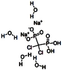 Clodronate disodium tetrahydrate