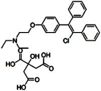 Clomiphene citrate salt
