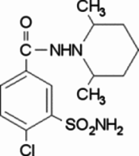 Clopamide for system suitability