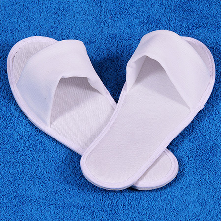 White Indoor Slippers