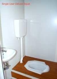Single User Deluxe Portable Toilet